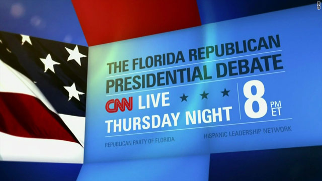 GOP Candidates to Appear in Last Debate before Florida Primary
