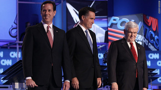 Republican hopefuls focus on Florida