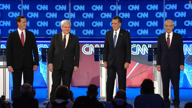 BLITZER'S BLOG: Expect 4-man race to continue