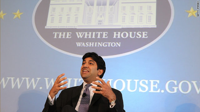 White House technology chief logs out