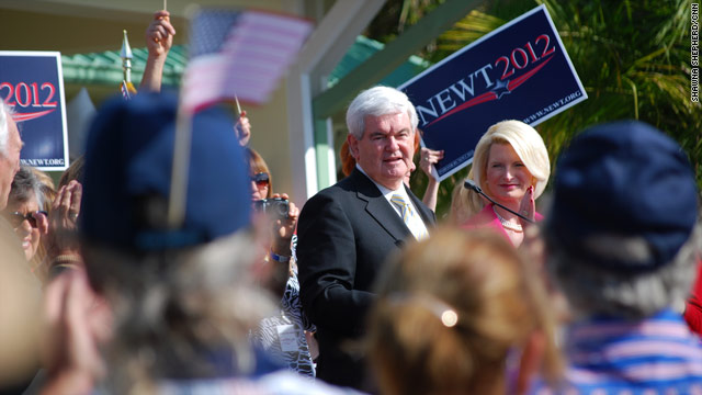Gingrich pushes his conservative background to Florida GOP