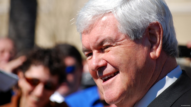 Florida paper backs a Gingrich presidency