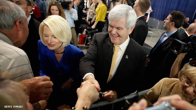 Gingrich sued for using 'Eye of the Tiger' in campaign