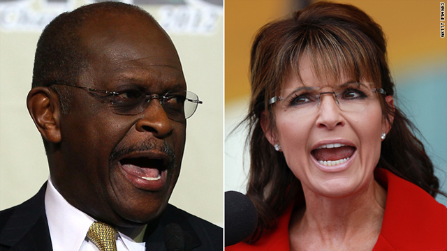 How much will Sarah Palin and Herman Cain help Newt Gingrich?