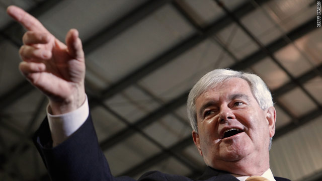 Gingrich: Romney campaign is &#039;pathetic&#039;