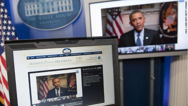 Obama's Google+ Hangout