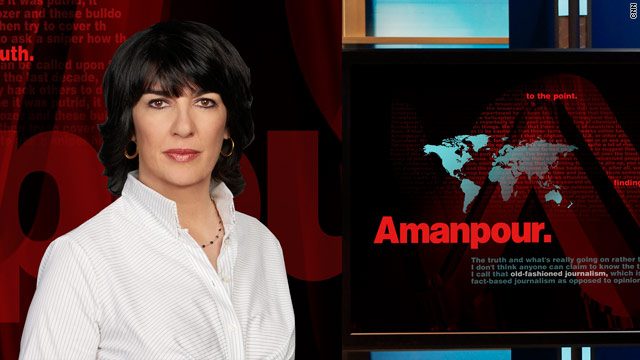 &#039;Amanpour&#039; Returns to CNN International