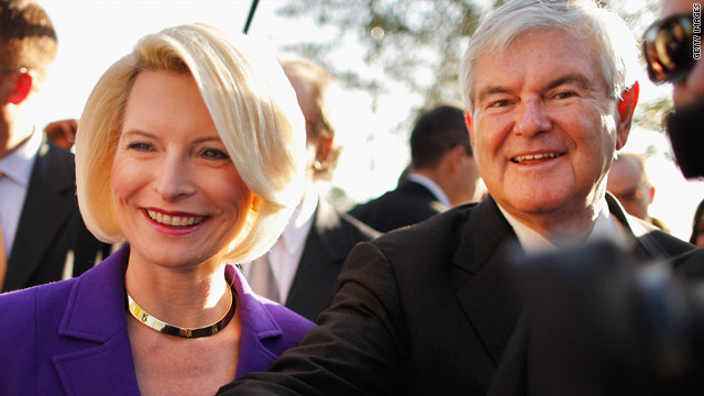 Three questions to Newt Gingrich on primary day