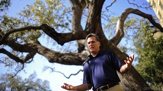 Romney seeks to unite conservatives