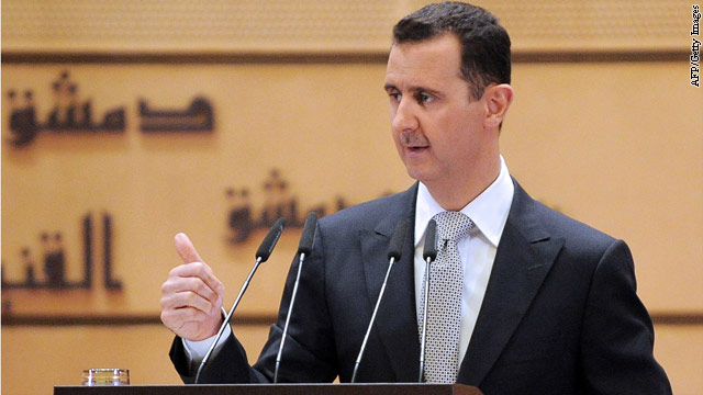 "Intel chief: ""Question of time"" for Syria leader"