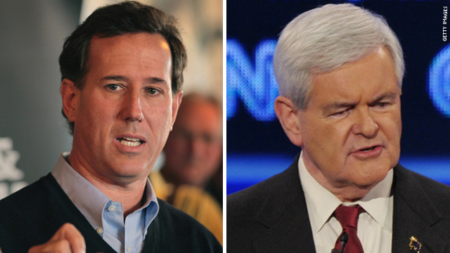 Santorum goes after Gingrich in new ad
