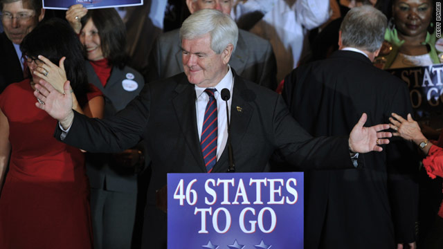 Does defiant Gingrich help or hurt GOP's chances?