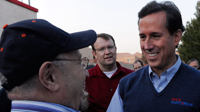 Group backing Santorum running ads in Missouri