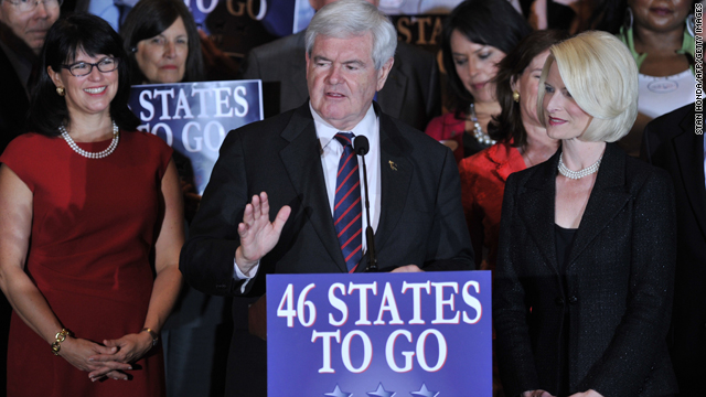 Does Newt Gingrich have a problem with women?