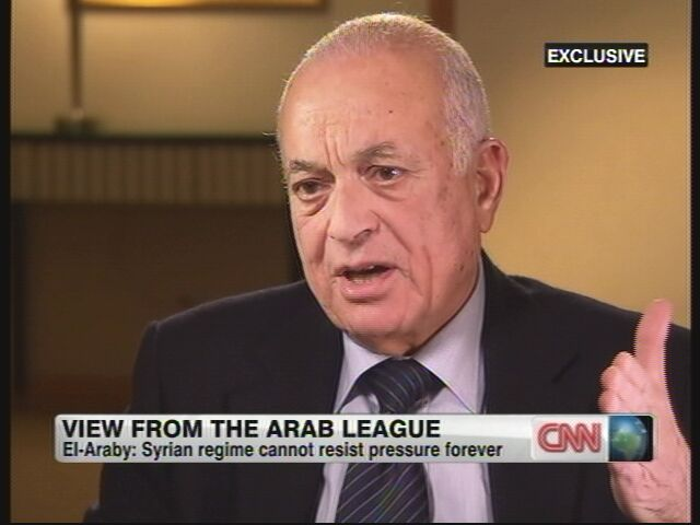 CNN exclusive with Arab League Secretary General Nabil el-Araby