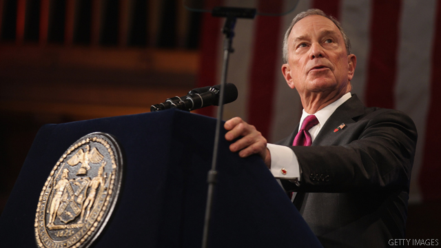 Citing climate change, Bloomberg endorses Obama