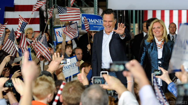 Poll: Romney's big lead in Nevada