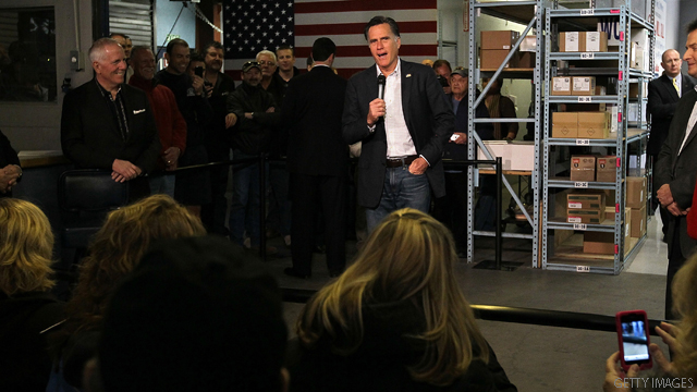 Romney thinks twice after 'fire people' comment