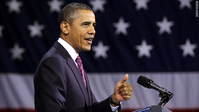 Obama to make 12:15 p.m. ET statement