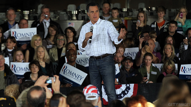 Romney faults stimulus at plant that received $2.3 million