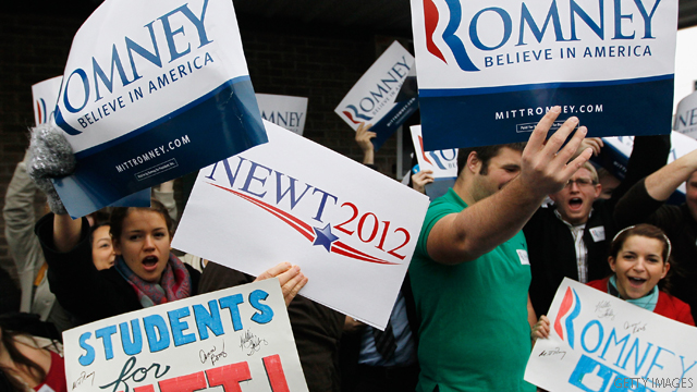 Romney backer calls on Gingrich to drop out
