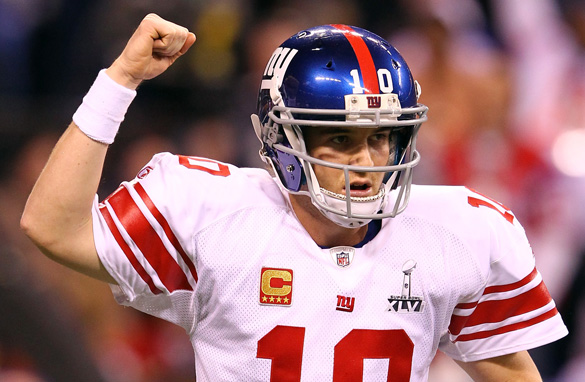 New York Giants' Eli Manning showed that he is among the NFL's elite quarterbacks.