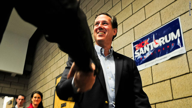 Five things we learned from Tuesday's Santorum sweep
