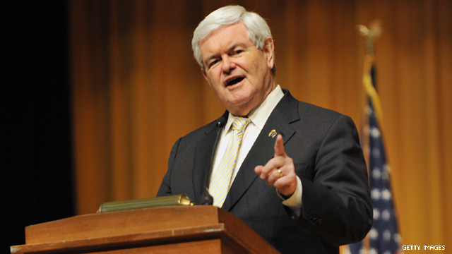 Poll: Gingrich ahead in Oklahoma