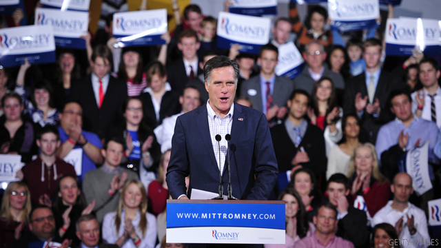 Romney Gov record gets $2 million defense