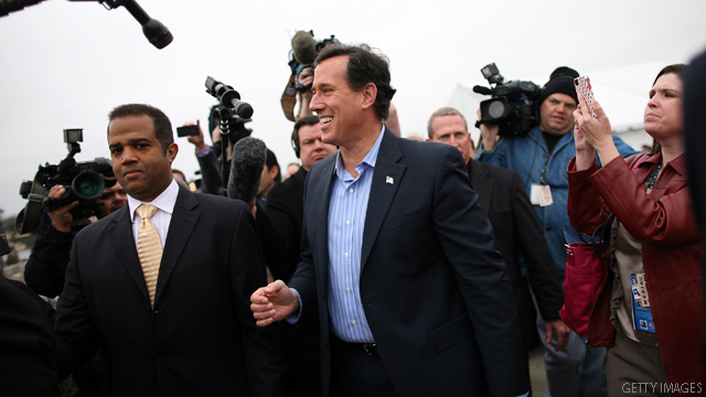 Source: Santorum to receive Secret Service protection
