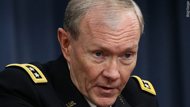 Joint Chiefs chairman heading to Egypt