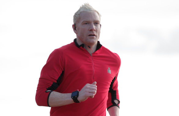 Welsh runner Iwan Thomas won a silver medal for Great Britain in the 4x400 meters relay at the 1996 Atlanta Olympics.