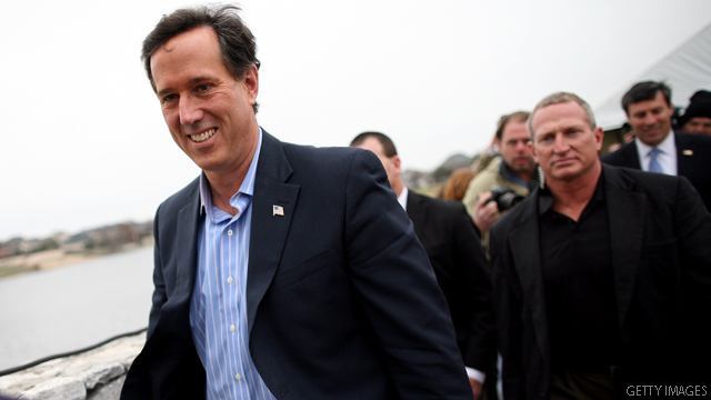 Santorum on Romney: 'You can't trust him to tell the truth'