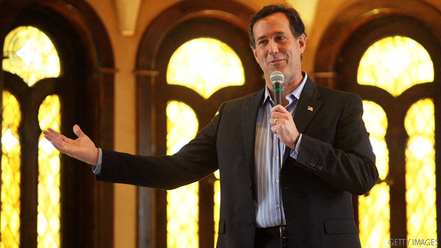 Santorum to concentrate on Obama at CPAC