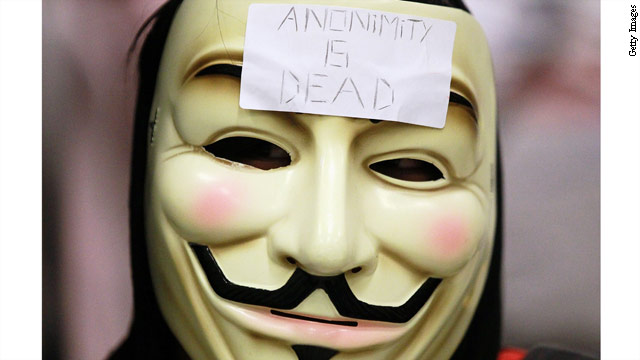 Anonymous targets the CIA
