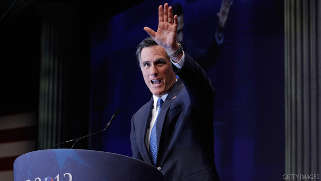 Romney does campaign first as Paul hopes for first win in Maine