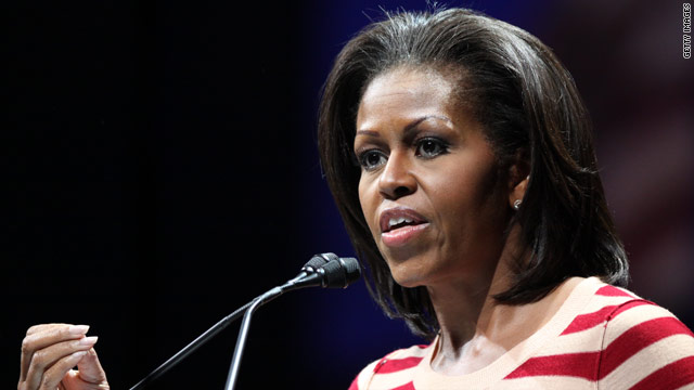 Michelle Obama urges faith-based groups to join healthy eating campaign