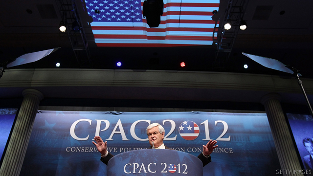 Gingrich jokes about tracking immigrants using mail services