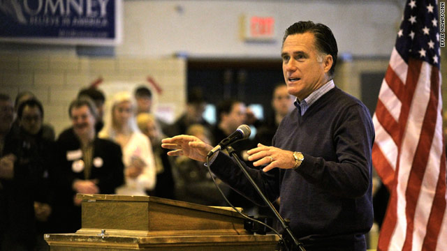 Mitt Romney wins Maine caucuses