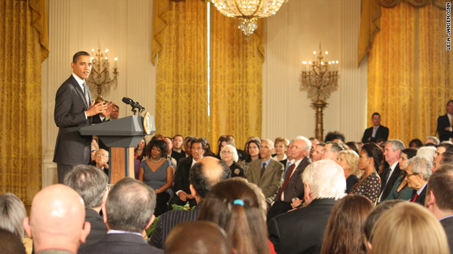 Arts honored at the White House
