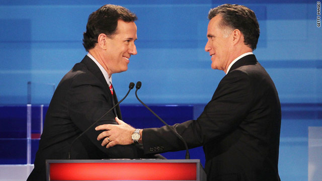 Polls: All knotted up between Romney & Santorum