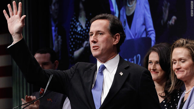 Santorum tops new poll in Michigan