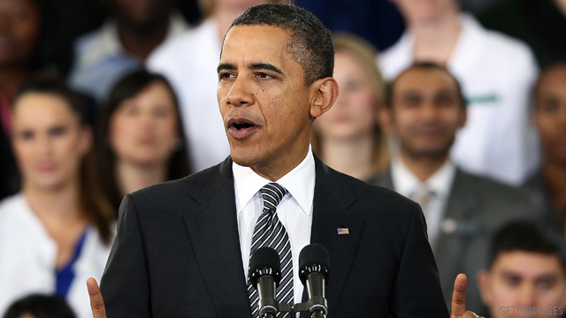Obama February fundraising up from January
