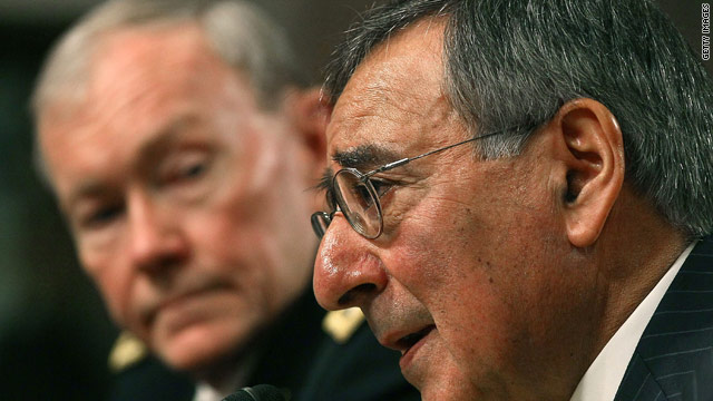 "Defense cuts a ""test"" of Congress"