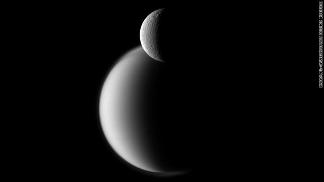 Rhea Before Titan