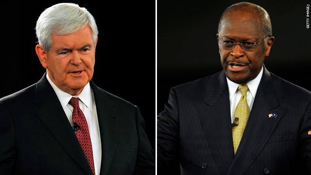 On Gingrich, Cain jumps ship for Romney