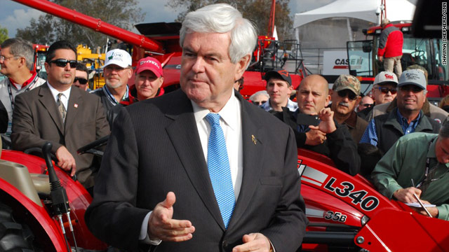 Gingrich says home state win will be crucial