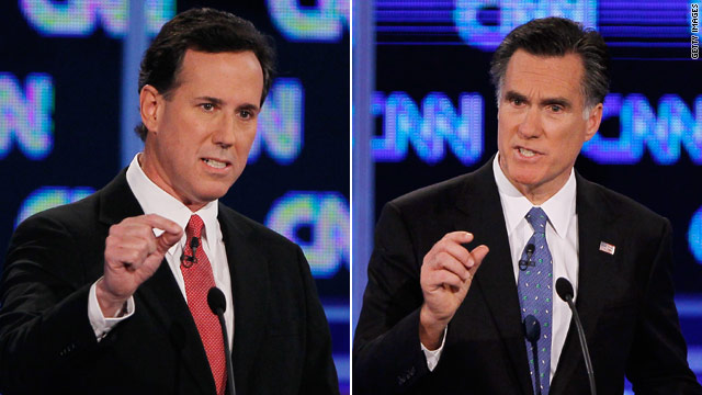 Santorum plans fiery Friday night blows against Romney
