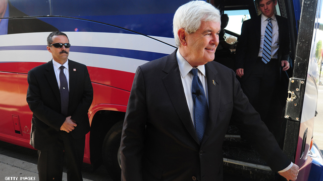 Gingrich&#039;s California fundraising push