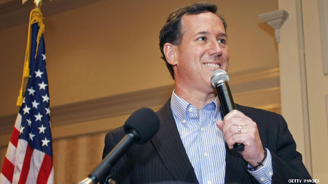 Santorum&#039;s war on teleprompters